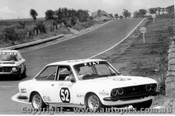 76773 - A. Nuttall / R. Bailey Fiat 124 Sport -  Bathurst 1976 - Photographer Lance J Ruting