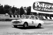 64031 - B. Jane / G. Reynolds Lotus Cortina -  6 Hour International  Sandown 29th November 1964
