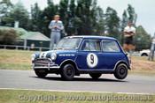 64035 - P. Manton Morris Cooper S - Warwick Farm 1964 - Photographer Richard Austin