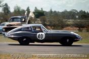 64411 - N. Allen Jaguar E Type Coupe  - Warwick Farm 1964 - Photographer Richard Austin