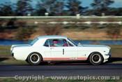 65050 - B. Jane -  Ford Mustang V8 - Warwick Farm 1965 - Photographer Richard Austin