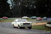 65051 - B. Jane -  Ford Mustang V8  leads  Foley, Harvey, Muir and Moffat  - Warwick Farm 1965 - Photographer Richard Austin