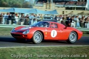 65440 - S. Martin Ferrari 250 LM  - Warwick Farm May 1965 - Photographer Richard Austin