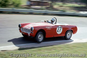 65447 - Doug Chivas Austin Healey Sprite  -  Warwick Farm May 1965 - Photographer Richard Austin