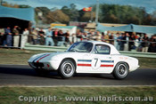 65449 - Leo Geoghegan Lotus Elan Ford T/C  -  Warwick Farm May 1965 - Photographer Richard Austin