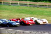 68449 - Matich SR3 -  Amon P4 Ferrari - Allen Elfin Traco  - Warwick Farm 1968 - Photographer Richard Austin