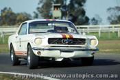 65057 - B. Jane -  Ford Mustang V8 - Warwick Farm 1965