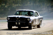 65060 -  Norm Beechey  - Ford Mustang - Lakeside 1965 - Photographer John Stanley
