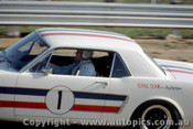 65061 - Pete  Geoghegan  Ford Mustang - Lakeside 1965 - Photographer John Stanley
