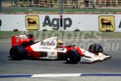 90504a - Ayrton Senna - McLaren Honda - Australian Grand Prix Adelaide 1990