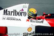 90508 - Ayrton Senna - McLaren Honda - Australian Grand Prix Adelaide 1990