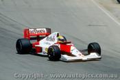 90510 - Ayrton Senna - McLaren Honda - Australian Grand Prix Adelaide 1990