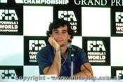 90511 - Ayrton Senna - McLaren Honda - Australian Grand Prix Adelaide 1990