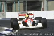 91504 - Ayrton Senna - McLaren Honda - Australian Grand Prix Adelaide 1991