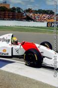 93507 - Ayrton Senna - McLaren Ford  - Australian Grand Prix Adelaide 1993