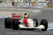 93508 - Ayrton Senna - McLaren Ford  - Australian Grand Prix Adelaide 1993