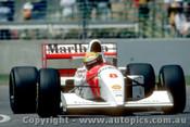 93509 - Ayrton Senna - McLaren Ford  - Australian Grand Prix Adelaide 1993