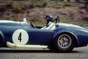 65452 - Ken Miles -  Cobra Roadster  -  Lakeside 1965 - Photographer John Stanley