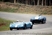 65454 - G. Scott Lotus 23B /  K.  Miles -  Cobra Roadster  -  Lakeside 1965 - Photographer John Stanley