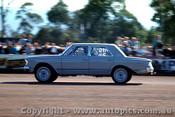 65907 - Stewart Allen 1963 Rambler Ambassador - NSW Drag Champoinships Castlereagh June 1965 - Photographer Richard Austin