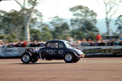 65909 - Ian Andrew 1933 Hudson Coupe - NSW Drag Champoinships Castlereagh June 1965 - Photographer Richard Austin