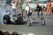 66912 -  Bob Mayer USA - Hemi Chrysler AA/Fuel Dragster  Nitemayer - Surfers Paradise 1966  - Photographer John Stanley
