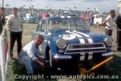 64044 - Jim McKeown Lotus Cortina  - Sandown 1964