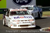 95012 - C. Lowndes  & P.  Brock - HRT Holden Commodore VP - Sandown 1995