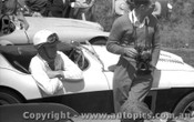 57412 - J. Roxburgh Austin Healey 100S -  Phillip Island 26th December 1957