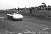 57413 - J. Roxburgh Austin Healey 100S -  Phillip Island 26th December 1957