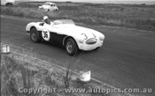57415 - J. Roxburgh Austin Healey 100S -  Phillip Island 26th December 1957