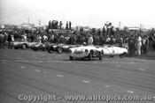 58420 - J. Roxburgh Austin Healey 100S -  Fishermen s Bend 22nd Feb. 1958