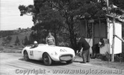 60403 - J. Cleary Austin Healey 100S -  Rob Roy Hill Climb 1960