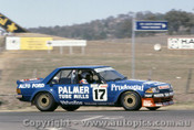 82737  -  D. Johnson / J. French  -  Bathurst 1982 - Ford Falcon XD