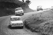 66736  -  McPhee / Mulholland Morris Cooper S - Schneider / Wright  -  Morris Mini Deluxe - Bathurst 1966