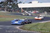 72420 - P. Moore Elfin 360 /  I. Cook Devione / H. Mitchell Elfin 360 - Sandown 10/9/1972
