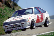 85743  - R. Cutchie / J. Faulkner Toyota Sprinter   Bathurst  1985
