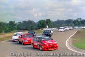 87020  -  C. Bond - Alfa Romeo 75 - Oran Park 30/8/1987