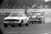 67057 -  K. Bartlett Alfa Romeo GTA / B. Foley Morris Cooper S   - Warwick Farm 16/7/1967
