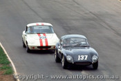 67473 - I. Johnson Milano GT / B. Fitz Lotus Elan - Oran Park 5/3/1967 - Photographer Richard Austin