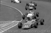 75506 - G. Burgess Bowin P6F /  L. Bennet Elfin 600 / L. Story Elwyn / Formula Ford - Amaroo Park 30/3/1975