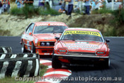 86007 - G. Willmington  Jaguar XJ-S - G. Rogers BMW 635 csi - Amaroo 1986