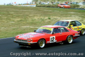 86008 - G. Willmington  Jaguar XJ-S - C. O Brien  BMW 635 csi - Amaroo 1986
