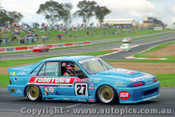 90738 - T. Finnigan / G. Leeds  Holden Commodore VL - Bathurst 1990