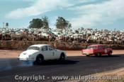 64045 - B. Muir Holden  EH S4 / B. Jane Jaguar  -  Lakeside  1964