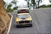 71772  -  Des West Ford Falcon XY GTHO Phase 3 & L.Geoghgegan / P. Brown Charger E38   Bathurst  1971 - Photographer Jeff Nield