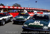 85748  - Walkinshaw / Percy, Dickson / Allam and Hahne / Goss  -  Bathurst 1985 - Jaguar XJS