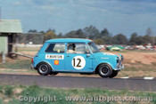 68097 - Peter Manton Morris Cooper S - Warwick Farm 8th September 1968 - Photographer Jeff Nield