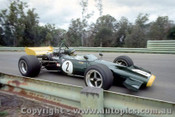 70628 - N. Allen - McLaren M10B - Warwick Farm 29th November 1970 - Photographer Jeff Nield