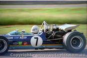 70629 - Frank Matich - McLaren M10B Chev V8 - Warwick Farm 15th Febuary 1970 - Photographer Jeff Nield